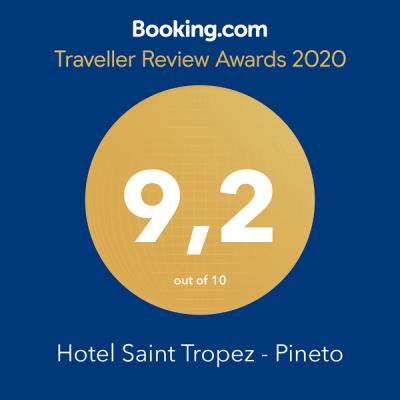 Booking Award Hotel Saint Tropez Pineto