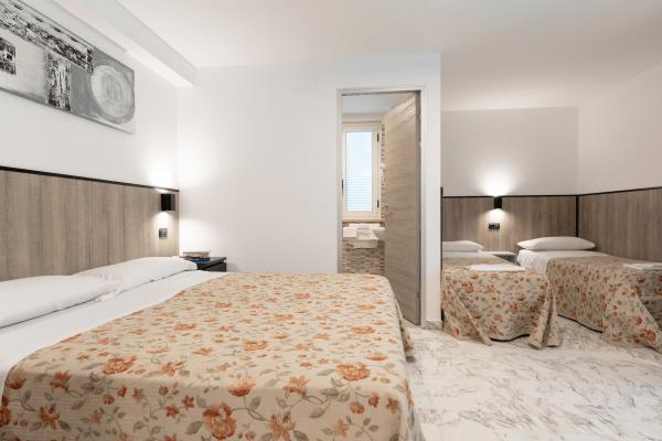 Camera modern Hotel Saint Tropez a Pineto in Abruzzo