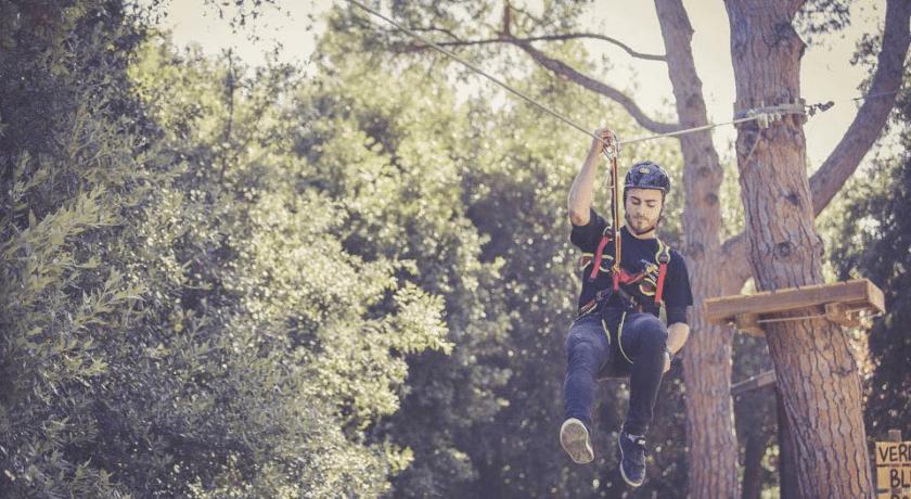 Parco avventura Adventure Park Cerrano a Pineto