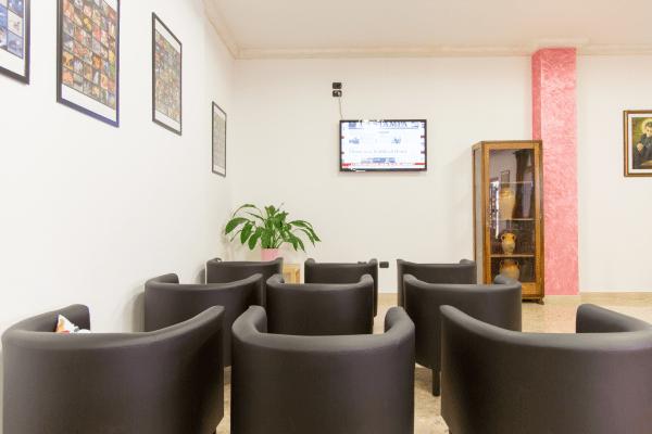 Sala Business Hotel Saint Tropez a Pineto in Abruzzo