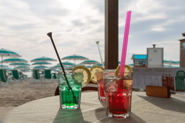 Stabilimento balneare Hotel Saint Tropez a Pineto in Abruzzo